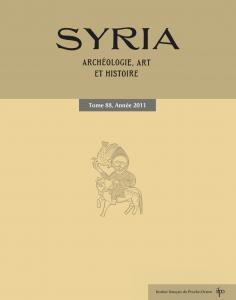 Couverture de Syria, 88, 2011