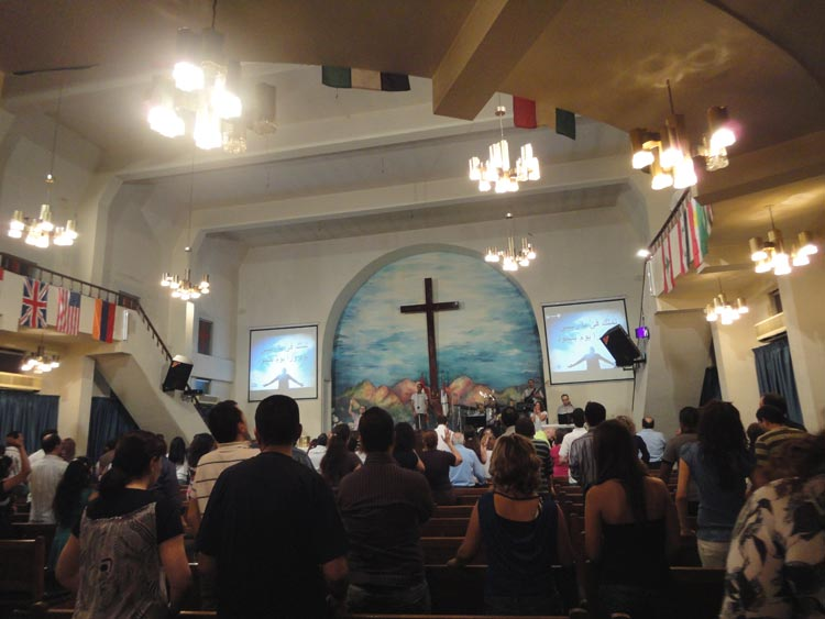 Eglise pentecôtise Abundant Life Churh, Bourj Hammoud, Beyrouth