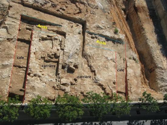 Vue générale des cales et des aménagements liés à la réparation des bateaux (photo Hicham Sayegh)