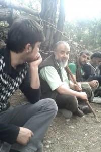 Abu Basir avec des membres de l'Armée syrienne libre