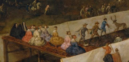 Velázquez Diégo, Philippe IV chassant le sanglier (détail)
