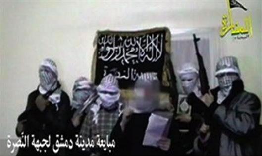 Section du Jabhat an-Nusra à Damas