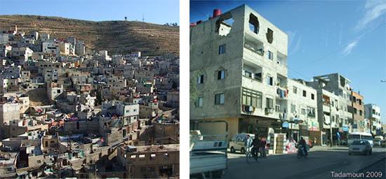 Quartiers informels  de Boustan al-Riz et Tadamoun à Damas, photos V.Clerc 2009