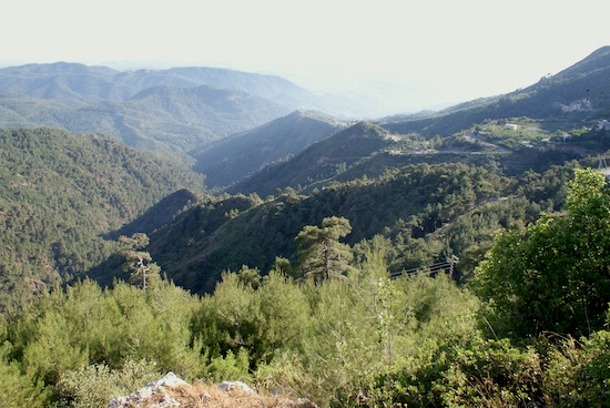 Montagne alaouite, photo B. Paloi