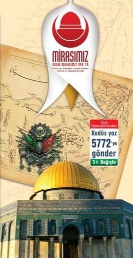 Annonce de l'association turque Mirasimiz . Source : http://www.mirasimiz.org.tr/