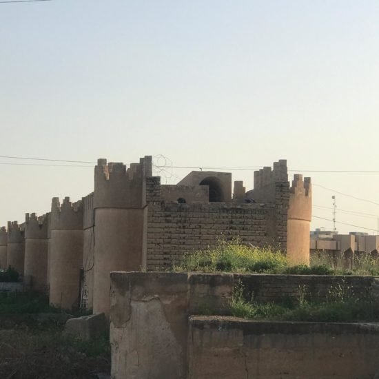 Vestiges de la citadelle de Tikrit restaurés sous Saddam Hussein
