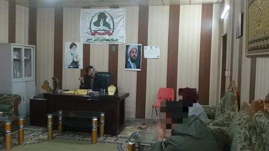 Bureau du représentant d'AAH à Tikrit, rue Zohhor, centre-ville, mars 2019, page officielle Facebook d'AAH à Tikrit.