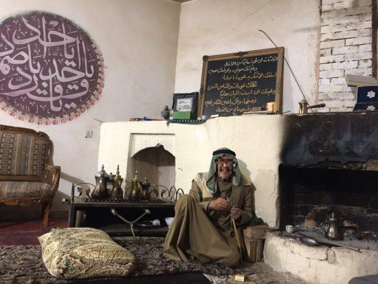 Une takiyya soufie rifa'i à Albou Ajeel, mars 2019, crédits A. A.