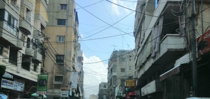 Banlieue sud de Beyrouth, Dahiyeh pendant le confinement, avril 2020