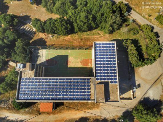 Système photovoltaïque pour la production municipale de Kfarmishki