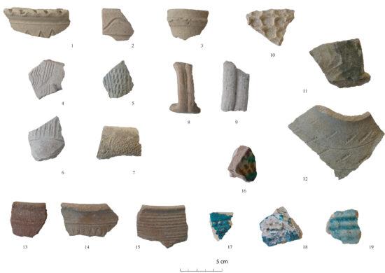 Fig. 3. Assemblage céramique de la période Early Islamic