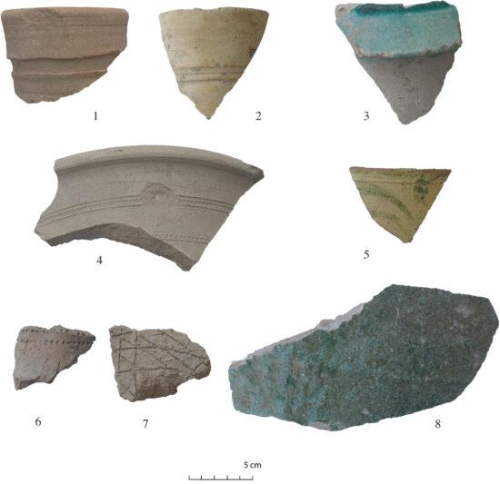 Fig. 5. Assemblage céramique de la période Late Islamic